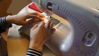 新一年生や幼稚園の入学準備、手作り袋物のポイント